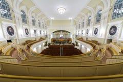 Hall Moskwa Tchaikovsky konserwatorium Zdjęcie Royalty Free