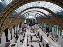 Hall Of Musee dOrsay Royalty Free Stock Photo