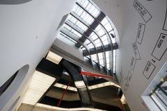 Hall National Museum of the XXI century MAXXI. Rome, Italy - F Royalty Free Stock Photo
