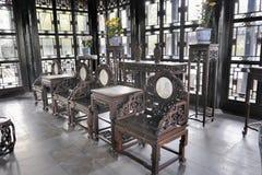 Hall Odległa woń, Skromnie administratora ogród, Suzhou, Chiny zdjęcie stock