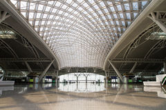 Hall Of High Speed Train Station Royalty Free Stock Photo
