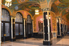 Hall of the Palast of Culture in Targu-Mures, Romania Royalty Free Stock Images