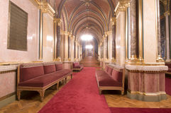 Hall of the parliament or theatre Stock Image