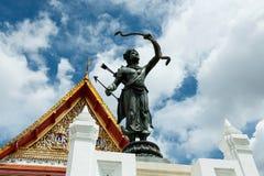 Hall Phuttaisawan tron, muzeum narodowe Bangkok Obraz Royalty Free