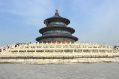 Hall of Prayer for Good Harvests, Beijing, China Stock Photography