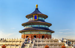 The Hall of Prayer for Good Harvests in Beijing Stock Image