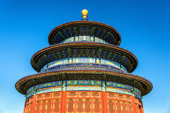The Hall of Prayer for Good Harvests in Beijing Stock Images