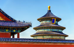 The Hall of Prayer for Good Harvests in Beijing Royalty Free Stock Photos