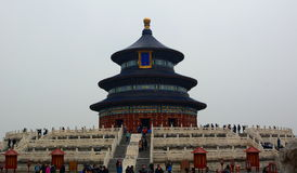 The Hall of Prayer for Good Harvests. The Temple of Heaven. Beijing. China Royalty Free Stock Photography