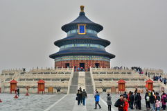 The Hall of Prayer for Good Harvests. The Temple of Heaven. Beijing. China Stock Images