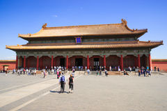 The Hall of Preserving Harmony in Forbidden City Royalty Free Stock Images