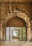 Hall of Private Audience In The Red Fort Stock Image