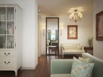 Hall provence stil Royaltyfri Bild