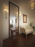 Hall provence stil Arkivfoto