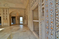 Hall of Public Audience. Agra Fort. Agra, Uttar Pradesh. India Royalty Free Stock Photos