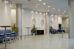 Hall in a public building Royalty Free Stock Images