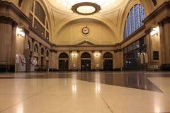 Hall railway station Stock Image