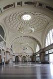Hall railway station Royalty Free Stock Photography