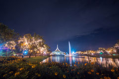 Hall Ratchamongkhon Suan Luang Rama 9 Park and Botanical Garden is the largest in Bangkok Royalty Free Stock Photography