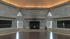 The hall of remembrance at the us holocaust memorial museum