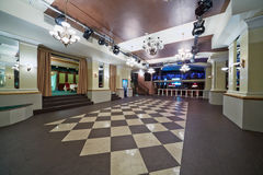 Hall in restaurant Royalty Free Stock Photos