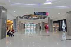 The hall of robinson shopping mall Stock Photos