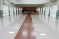 Hall at School Royalty Free Stock Photo
