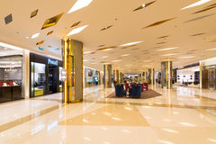 Hall in Siam Paragon shopping mall, Bangkok Royalty Free Stock Photo