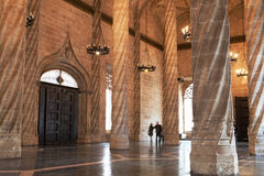 Hall Silk обмена, Валенсии стоковая фотография