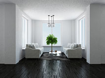 Hall with sofas Stock Photo