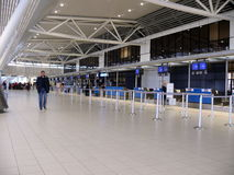 Hall of Sofia Airport Royalty Free Stock Photography