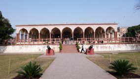 Hall of Special Audience. In Lahore Fort Stock Photo