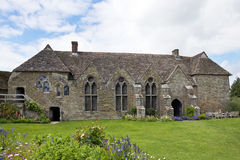 The Hall at Stokesay Castle Royalty Free Stock Photo