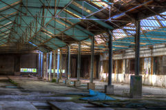 Hall structure Royalty Free Stock Photo