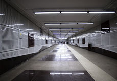 Hall of subway Stock Photography