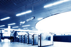 Hall Subway Station Royalty Free Stock Photography