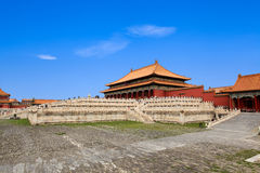 The hall of supreme harmony Stock Images