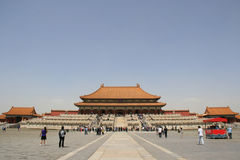 Hall of Supreme Harmony - Beijing - China (2) Stock Image