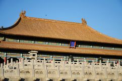 The Hall of Supreme Harmony in the Forbidden city Royalty Free Stock Photo