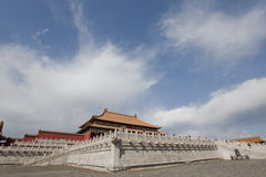 The Hall of Supreme Harmony in the Forbidden City Royalty Free Stock Photos