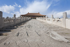 The Hall of Supreme Harmony in the Forbidden City Stock Image