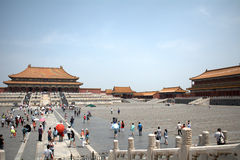 The Hall of Supreme Harmony in the Forbidden City, Beijing, Chin Royalty Free Stock Photo