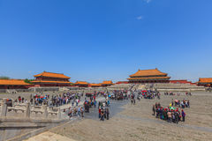 The Hall of Supreme Harmony in the Forbidden City Stock Photography