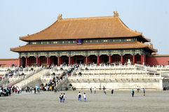 Hall of Supreme Harmony - the Forbidden City, Beijing, China Stock Photos