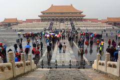 The Hall of Supreme Harmony. Forbidden city. Beijing. China Royalty Free Stock Photography