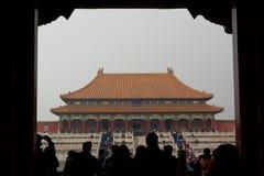 The Hall of Supreme Harmony. Forbidden city. Beijing. China Stock Photos