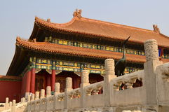 Hall of Supreme Harmony, Forbidden City, Beijing Royalty Free Stock Photography