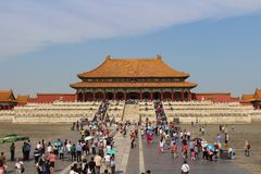 Hall of Supreme Harmony - The Forbidden City Royalty Free Stock Photography
