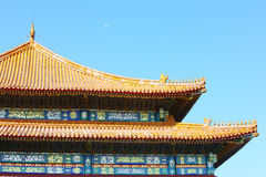 Hall of Supreme Harmony in forbidden city Stock Images