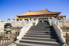 The Hall of Supreme Harmony in Forbidden City Royalty Free Stock Photo
